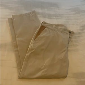 Men's Orvis flat front twill chino 36x32 pants